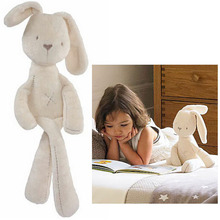 50CM MaMas&papas Cute Bunny Rabbit Stuffed Soft Plush Baby Toys Brinquedos White Cheapest Price Best Gift for Kids(China)