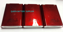 (100pcs/lot free shippping to EU) rechargeable battery UF103450P sanyo 103450 2000mah 3.7V(China)