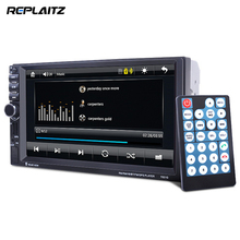 "7"" HD GPS Car MP4 MP5 Player 2 Din Touch Screen Bluetooth Steering Wheel Control Auto Stereo Car DVD Players(China)"