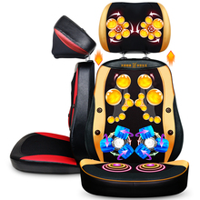 Electric body massager Vibration Shiatsu neck back body massage cushion chair Heating back pain relief Hot Product