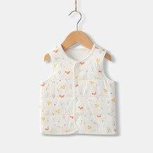Children Vest Kids Coat Winter Newborn Baby Boy Girl Clothing Velour Cardigan Infant Clothes Jacket Toddler Waistcoat Gilet 2018