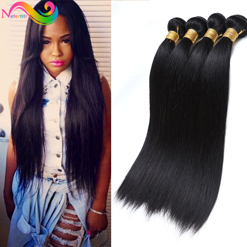 7a Straight Peruvian Virgin Hair Extensiones Humanas Peruvian Virgin Hair Tissage Bresilienne 3 Bundles New Star Hair Company<br><br>Aliexpress