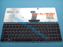 Free Shipping Original Russian keyboard for IBM Lenovo Ideapad Y570 Y570N Y570NT Y570P Y570I Laptop Russian keyboard