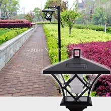 High Quality Dual use 1.5M LED outdoor lighting solar lawn lights waterproof Garden Solar road path Lamp Decoration K58(China)