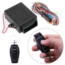 New Car Auto Remote Central Kit Door Lock Vehicle Keyless Entry System Central Locking with Remote Control 12V Alarm Systems(China)