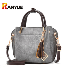 Fashion Tassel Sequined Women Bags Designer Handbags High Quality Pu Leather Shoulder Crossbody Bags For Women Mini Tote Bag Sac(China)