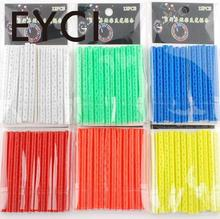 EYCI 12Pcs Bike Wheel Rim Spoke Mount Clip Tube Safety Warning Bicycle Light Strip Reflector Outdoor 5 Color Bicycle Accessories