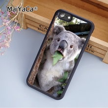 MaiYaCa Funny Koala baby fashion soft mobile cell Phone Case Cover For iPhone 5 5S SE Custom DIY cases luxury shell(China)