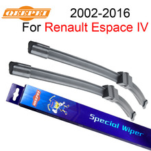 QEEPEI Windscreen Wipers For Renault Espace 4 2002-2016 30+28''R Car Rubber Wiper Blade Accessories For Auto,CPA202(China)