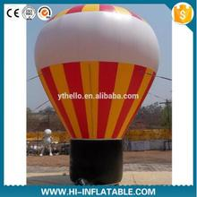4m Inflatable Grid Color Cold Air Advertising Balloon For Event