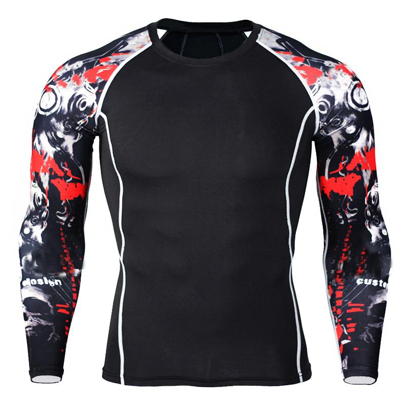 HTB1IvE buALL1JjSZFjq6ysqXXaS - Mens Compression Shirts 3D Teen Wolf Jerseys Long Sleeve T Shirt Fitness Men Lycra MMA Crossfit T-Shirts Tights Brand Clothing