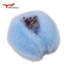 2016 Real fox Fur Collar Scarf Womens Shawl Wraps Shrug Neck Warmer Stole Wholesale Hot sale Ring Scarf Womens L#6