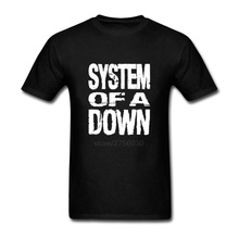 Youth Cotton SYSTEM OF A DOWN logo Shirt And Tshirt Popular Short Sleeve T-Shirt Man T Shirt Dress Plus Size