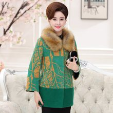 Women Wool Coats Winter New Lady Temperament Cultivate One's Morality Women's Cashmere Coat Plus Size Long Wool Winter Coats