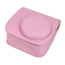 CES Hot Camera Case Bag Cover for Fujifilm Instax Mini8 Mini8s Single Shoulder Bag Pink(China)