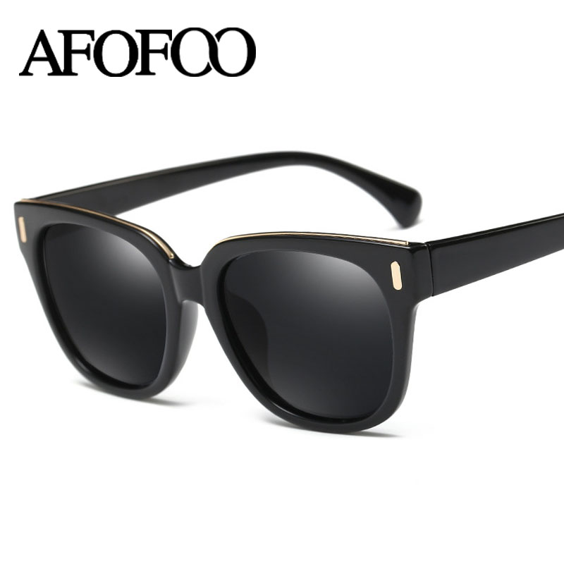 AFOFOO Polarized Sunglasses Brand Designer Vintage Square Men Driving Mirror Sun glasses High Quality Women Retro UV400 Shades<br><br>Aliexpress