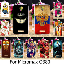 AKABEILA Soft TPU Silicone Phone Case For Micromax Canvas Spark Q380 4.7 inch Case Cover Housing Back Cover