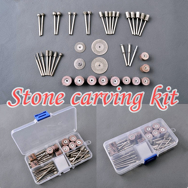 2017 New Hand Tools Stone Carving Electric Grinder Engraver Consumables Emery Grinding Head Abrasive Disc Impeller Free Shipping<br><br>Aliexpress