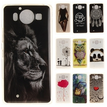 Buy Silicone Phone Case sFor Nokia Lumia 950 N950 Coque Microsoft Lumia 950 Vintage Floral Tiger Lion Panda Soft TPU Back Cover for $1.46 in AliExpress store