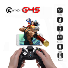 Originale gamesir g4s 2.4 ghz wireless gamepad controller bluetooth universale per android tv box smartphone tablet pc vr giochi