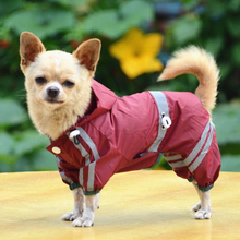 Waterproof Pet Clothing for Small Dogs Rain Puppy Clothes Raincoat Jacket Dog Pet Products Chihuahua Ropa Lluvia 40