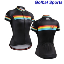 2017 New summer breathable Jersey professional team Cycling clothing Mountain Bike fast drying clothing black Cycling Jersey