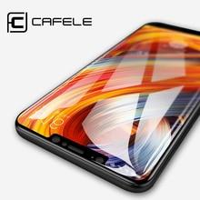 CAFELE Tempered Glass Xiaomi MI 8 se 6 5 5X 5S Plus A1 A2 Screen Protector Redmi Note 4X 5 pro 5A Protective Glass Film
