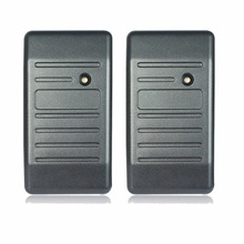 2pcs Access Control Proximity For RFID Card Reader Wiegand 26/34 EM-ID 125KHz Reader & ABS Shell Waterproof F1693H