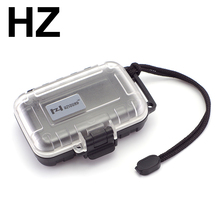 H HZ HZSOUND Earphone Compressive Waterproof Box Drop Resistance Protective Case Portable Earphone Case Headphone Accessories(China)