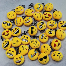 Emoji Plush Toys Cotton Stuffed Wink Pendant Accessories Soft Plush Doll Children Toys kids Christmas Gifts
