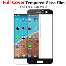 Full Cover White Golden Black Tempered Glass For HTC One M10 / Desire 10 Lifestyle Pro EVO Bolt Screen Protector Protective Film