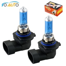 2pcs halogen lamp 9006 hb4 super white white Fog 9006 halogen headlights bulb  55W Car Head Lamp Light  led bulb 12V D0008