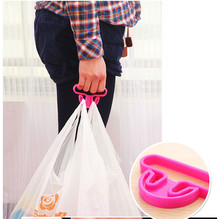 2Pcs Kitchen Gadget Shopping Device To Facilitate Plastic Device To Use Plastic Hanging Ring To Buy Food Saving Bag Device 099