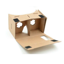High quality DIY Google Cardboard Virtual Reality VR Mobile Phone 3D Viewing for 4-6 Inches Screen Free Shipping XFPA27