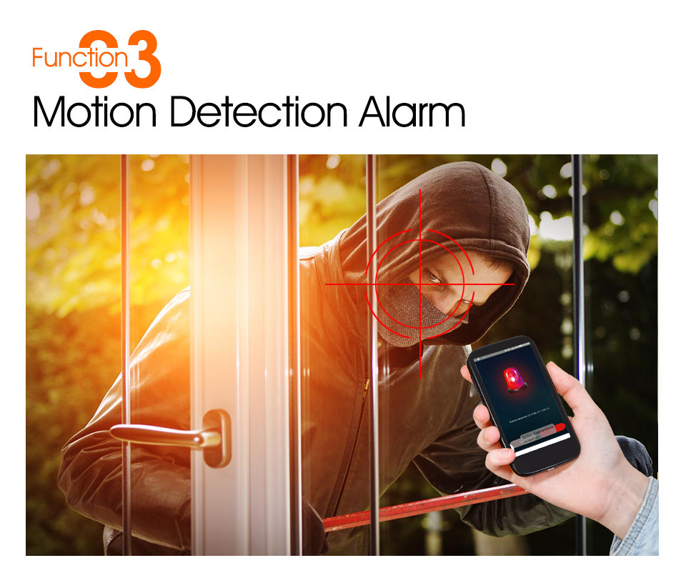Motion Detection Alam