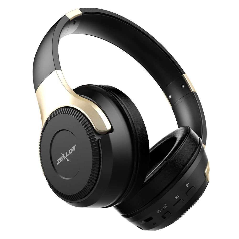 ZEALOT B26 Bluetooth Headphones Hi-fi Stereo Headset Rechargeable Wireless Game Headset With Microphone Earphone For Cell Phone<br>