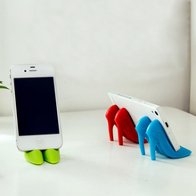 New Creative High Heels Modeling Mobile Phone Storage Holders Silicone Lazy Phones Stent Fixed Storage Rack Multifunction Rack