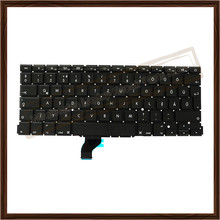 A1502 Hungarian Keyboard For Apple Macbook Retina Laptop Hungarian Keyboard Replacement 2013