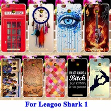 Cell Phone Cases For Leagoo Shark 1 Shark1 Covers DreamCatcher Telephone Booth Letters Housing Bag Skin Shell Hood Silicon Capa