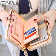 Purse Wallet Female Famous Brand Card Holders Cellphone Pocket Gift Women Bag Money Bag Clutch Portefeuille Femme Bolsa Feminina