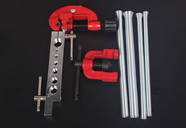 7pcs/kit flaring tool set blow case plumbing tools<br>