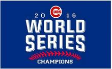 2016 WORLD SERIES Chicago Cubs flag 3ftx5ft with metal Grommets