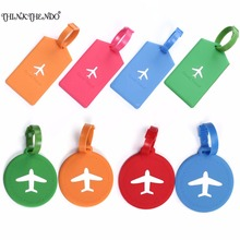 THINKTHENDO Fashion Design Novelty Travel Luggage Bag Tag Suitcase Baggage Office Name Address ID Label  5 Color