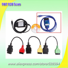 Supports Airbag, ABS, Power Steering and CAN systems Scan Tool For FIAT ECU Scan DHL EMS Fast Delivery