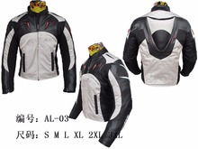 New Arrival Riding Motocross jackets Oxford cloth 600D + PU leather Motorcycle racing jackets with Hump size S-3XL(China)