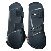 Free shipping Neoprene horse  tendon  boots,PU  shell.Horse jumping protection pair(AC7030)(China)