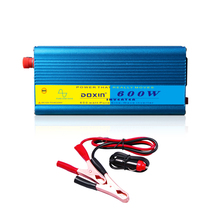 inverter 12v 220v 600w 1200w peak pure sine wave inverter doxin brand dc 12v to ac 220v 50hz car power inverter(China)