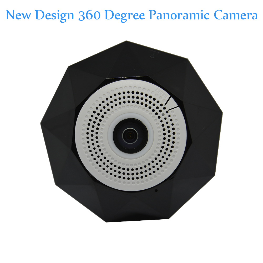 360 Degree Panoramic Camera WIFI IP Camera Night version Baby Monitor Wireless Surveillance CCTV two-way voice intercom alarm<br>