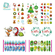 Brand New Designed Christmas Set Tattoos Sticker and Nail Sticker