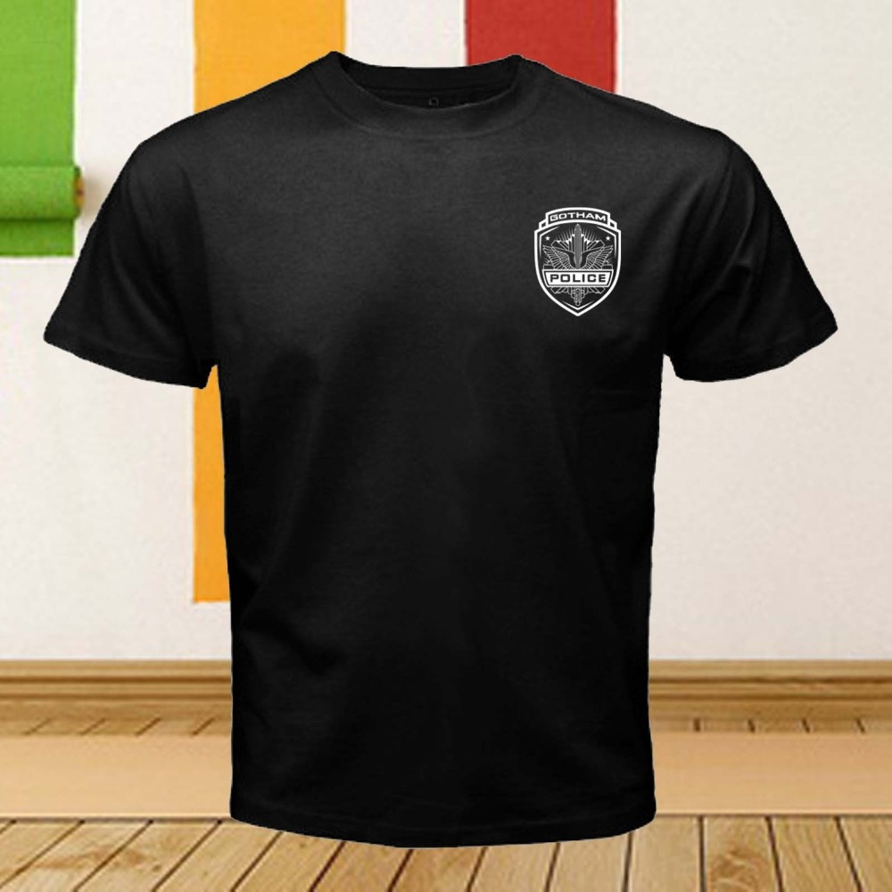 Police Department City Of Gotham Batman Dark Knight Movie t-shirt